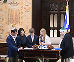 Parker's Family Bat Mitzvah Portraits And Service Photography at Congregation Shaaray Tefila, Bedford, New York
