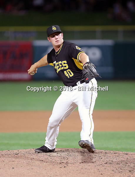 Jeremy Rhoades -2018 Salt Lake Bees (Bill Mitchell)
