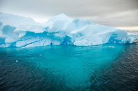 Iceberg grounded in shallow bay. Antarctica Dallman Bay, Gerlache Strait and Schollaert Channel, Palmer Archipelago, Southern Ocean