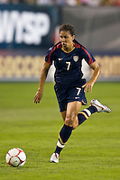 United States (USA) midfielder Shannon Boxx (7). The United States Women's National Team (USA) defeated the Republic of Ireland (IRL) 2-0 during an international friendly at Lincoln Financial Field in Philadelphia, PA, on September 13, 2008.