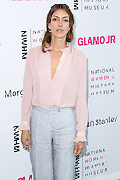 LOS ANGELES, CA, USA - AUGUST 23: Dawn Olivieri arrives at The National Women's History Museum and Glamour Magazine's 3rd Annual Women Making History Brunch held at the Skirball Cultural Center on August 23, 2014 in Los Angeles, California, United States. (Photo by Xavier Collin/Celebrity Monitor)