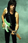 Jeff Beck, Studio Portrait Session , In New York City 1999.Photo Cerdit: Eddie Malluk/AtlasIcons.com