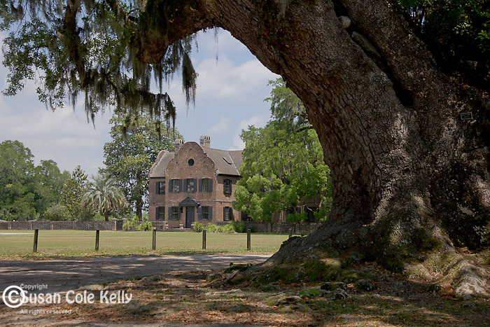 The house museum at Middleton Place Plantation (on the National Historic Register) in Charleston, SC