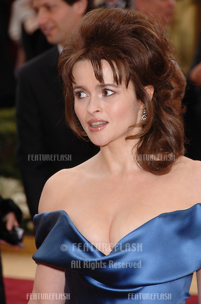 HELENA BONHAM CARTER at the 78th Annual Academy Awards at the Kodak Theatre in Hollywood..March 5, 2006  Los Angeles, CA.© 2006 Paul Smith / Featureflash