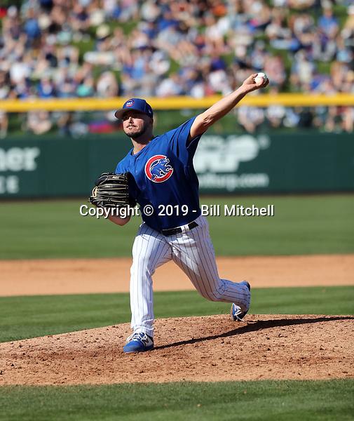 Ian Clarkin - Chicago Cubs 2019 spring training (Bill Mitchell)