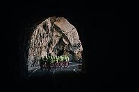 tunnel-view for Team Trek-Segafredo at Mallorca training camp <br /> <br /> January 2018