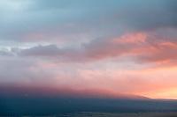 Misty sunrise on the flanks of Blanca Peak