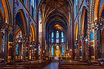 Deutschland, Nordrhein-Westfalen, Kevelaer: St. Marien Basilika - Altarraum | Germany, Northrhine-Westphalia, Kevelaer: Chapel Square and St Mary Basilica - interior, altar