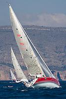 16  .Esp 5951  .Pinyol Vermell  .Felix Comas  .Matias Gil  .CN El Arenal  .Sun Fast 36 LK XXII Trofeo 200 millas a dos - Club Náutico de Altea - Alicante - Spain - 22/2/2008