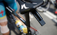 every bike in this Tour is equipped with a gps device under the saddle so every rider can be located at every moment during the race<br /> <br /> stage 2: Utrecht - Neeltje Jans (166km)<br /> 2015 Tour de France