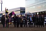 SHINAGAWA,JAPAN-DECEMBER 29: Apollo Kentucky,ridden by Hiroyuki Uchida, after winning the Tokyo Daishoten at Ohi Racecourse on December 29,2016 in Shinagawa,Tokyo,Japan (Photo by Kaz Ishida/Eclipse Sportswire/Getty Images)