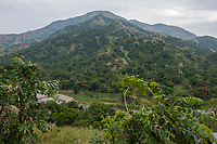 Haiti, Gros-Morne. Hillside views.