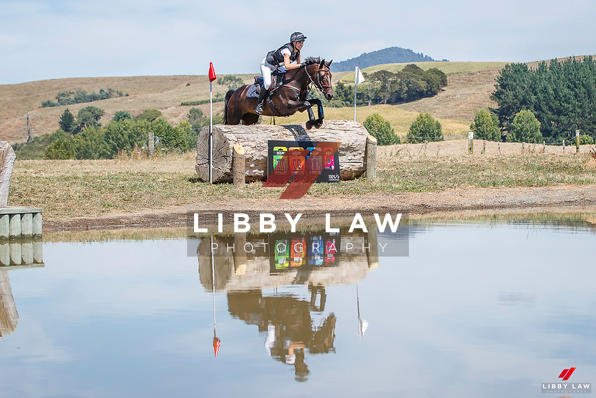 NZL-Charlotte Penny rides SD Amourosi. CCI2*-S. 2021 NZL-RANDLAB Matamata Horse Trial. Sunday 21 February. Copyright Photo: Libby Law Photography.