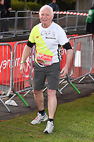 Chris Chittell<br /> at the start of the 2016 London Marathon, Blackheath, Greenwich London<br /> <br /> <br /> ©Ash Knotek  D3108 24/04/2016
