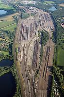 Rangierbahnhof Maschen: EUROPA, DEUTSCHLAND, NIEDERSACHSEN, MASCHEN, (EUROPE, GERMANY), 17.08.2016: Rangierbahnhof Maschen, der Bahnhof Maschen ist der groesste Rangierbahnhof Europas. Eroeffnet wurde er im Jahre 1977 ,