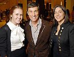 Hannah Lonergan, Mark Horn and Lisa Gochman at the Recipe for Success Tea & Temptations fashion show at Saks Fifth Avenue Thursday Nov. 19,2009. (Dave Rossman/For the Chronicle)