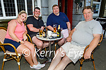 Enjoying the evening in the Grand Hotel on Friday, l to r: Amy Kelly, Simon Behan, Seamus Sullivan and Ger Lynch.