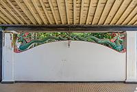 Yogyakarta, Java, Indonesia.  Mythical Javanese Serpent, Sultan's Palace.