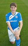 St Johnstone Academy Under 17's…2016-17<br />David Brown<br />Picture by Graeme Hart.<br />Copyright Perthshire Picture Agency<br />Tel: 01738 623350  Mobile: 07990 594431