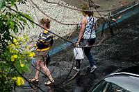 RIO DE JANEIRO,RJ, 07.12.2018 - CLIMA-RJ - Forte chuva deixa ruas do Humaitá alagadas, zona sul do Rio de Janeiro (Foto: Vanessa Ataliba/Brazil Photo Press)