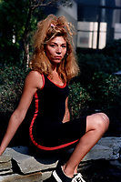 August 29, 1987 - Montreal (Qc) CANADA - actress  Myriam Meziere<br /> at 1987 World Film Festival