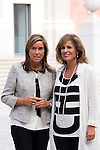 20.09.2012. Queen Sofia of Spain, accompanied by the mayor of Madrid Ana Botella,  the Minister of Health, Social Services and Equality Ana Mato and the Foundation ONCE president, Miguel Carballeda, attend the inauguration of the IV Biennial of Contemporary Art Foundation ONCE, in the Conde Duque Cultural Centre in Madrid. In the image (L-R) Ana Mato and Ana Botella (Alterphotos/Marta Gonzalez)