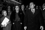 ALBERTO SORDI CON GIOVANNA RALLI<br /> ROMA 1975