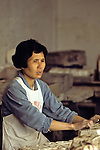 Lady Working In Factory