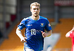 St Johnstone FC Season 2018-19…  McDiarmid Park    <br />David Wotherspoon<br />Picture by Graeme Hart. <br />Copyright Perthshire Picture Agency<br />Tel: 01738 623350  Mobile: 07990 594431