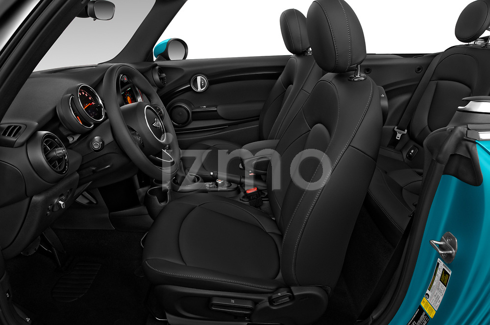 Front seat view of 2019 MINI Convertible Cooper-Signature 2 Door Convertible Front Seat  car photos