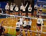 Montana at South Dakota State University Volleyball