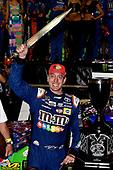 Monster Energy NASCAR Cup Series<br /> Bass Pro Shops NRA Night Race<br /> Bristol Motor Speedway, Bristol, TN USA<br /> Saturday 19 August 2017<br /> Kyle Busch, Joe Gibbs Racing, M&M's Caramel Toyota Camry wins<br /> World Copyright: Rusty Jarrett<br /> LAT Images