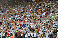 Fans do the wave during the World Cup match between Germany and Poland at FIFA World Cup Stadium, Dortmund, Germany, June 14, 2006.