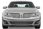 Straight front view of a 2010 Lincoln MKS FWD