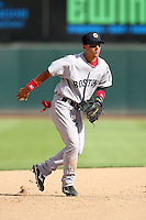 Jose Iglesias - Mesa Solar Sox, 2009 Arizona Fall League.Photo by:  Bill Mitchell/Four Seam Images..