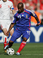 Sylvain Wiltord of France. France and Switzerland played to a 0-0 tie in their FIFA World Cup Group G match at the Gottlieb-Daimler-Stadion, Stuttgart , Germany, on Tuesday, June 13, 2006.
