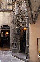 Europe/France/Auvergne/63/Puy-de-Dôme/Clermont-Ferrand: Maison de Savaron rue des Chaussetiers
