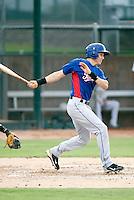 Drew Robinson - AZL Rangers - 2010 Arizona League. .Photo by:  Bill Mitchell/Four Seam Images..