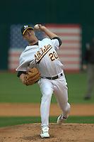 Baseball: Mark Mulder. Kansas City Royals vs Oakland Athletics. Oakland, CA 5/23/2003 MANDATORY CREDIT: Brad Mangin
