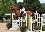 12 July 2009: Lindsay Pearce riding Tangle Top during the showjumping phase of the CIC 2* Maui Jim Horse Trials at Lamplight Equestrian Center in Wayne, Illinois.