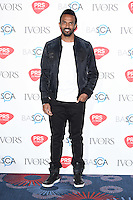 Craig David<br /> arrives for the 2016 Ivor Novello Awards at the Grosvenor House Hotel, London.<br /> <br /> <br /> ©Ash Knotek  D3121  19/05/2016