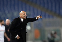 Calcio, Serie A: Roma vs ChievoVerona. Roma, stadio Olimpico, 22 settembre 2016.<br /> Roma's coach Luciano Spalletti gestures to his players during the Italian Serie A football match between Roma and Chievo Verona, at Rome's Olympic stadium, 22 December 2016.<br /> UPDATE IMAGES PRESS/Isabella Bonotto