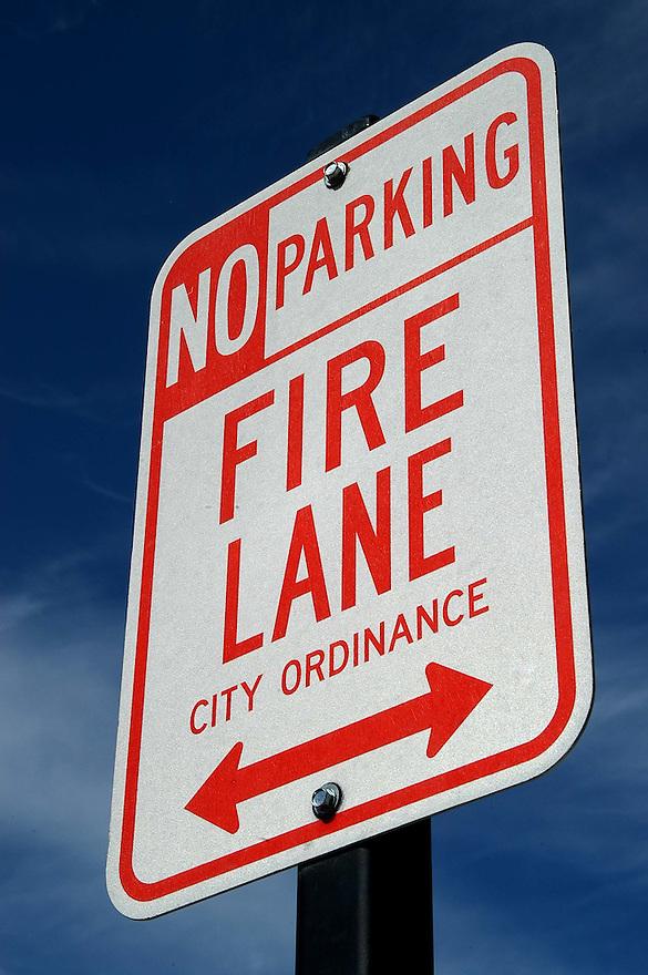 AJ Alexander - No Parking Sign .Photo By AJ Alexander