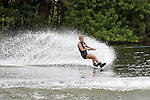 September 11, 2014:  Scenes from the WWA Wakeboard World Championships at Mills Pond Park in Fort Lauderdale, FL.  2014 Jr Women's  Wakeboard Champion Erika Lang USA. Liz Lamont/ESW/CSM
