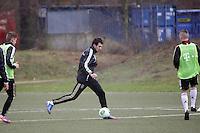 05.02.2013: Training der U17-Nationalmannschaft