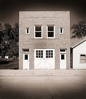 The brick facade of an American Legion building.