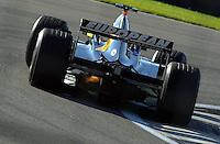 Fernando Alonzo (#20 Minardi)
