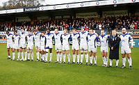 Photo: Richard Lane/Richard Lane Photography. London Wasps v Bath Rugby. LV=Cup. 14/11/2010. Bath minutes silence.