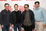 """attends the first day of rehearsal for the New Group's production of """"Happy Talk"""" at The New 42nd Street Studios on April 1, 2019 in New York City."""