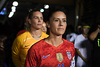 CHARLOTTE, NC - OCTOBER 03: Ali Krieger #11 of the United States prior to their game versus Korea Republic at Bank of American Stadium, on October 03, 2019 in Charlotte, NC.